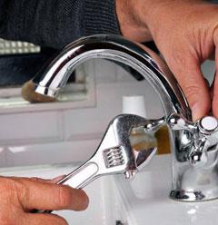 repairing a leaking faucet