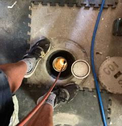 repairing blocked drains